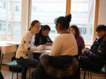 ストックホルム大学(スウェーデン)で英語でプレゼンテーションをしました♪